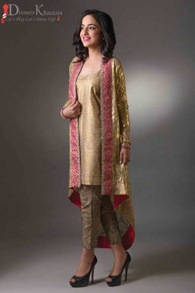 Elegant Pakistani Most Beautiful Formal Dresses  Current Styles With Fashion
