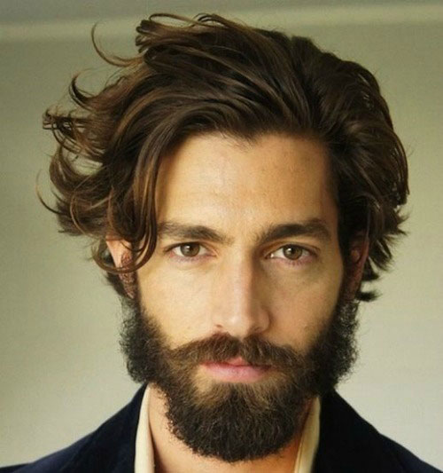 Classic-Messy-Long-Hair-with-Thick-Beard