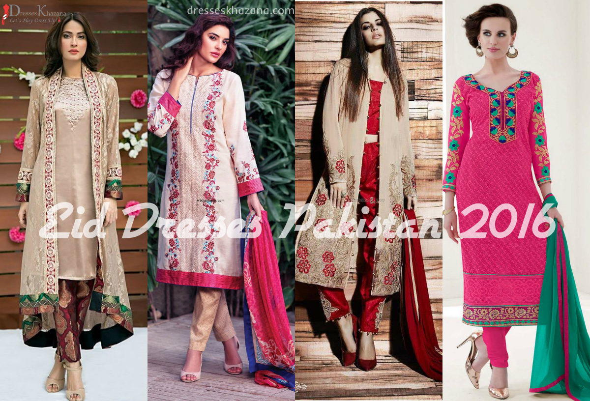 40 New Trend Of Eid Dresses Pakistan 2018 For Girls