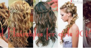 Eid Hairstyles for girls 2016