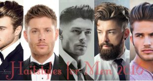 Hairstyles for men 2016
