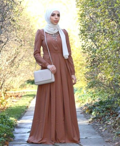 Hijab Styles Fashion and Abaya Designs 2017 for Girls