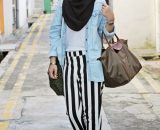 Hijab fashion for the casual style