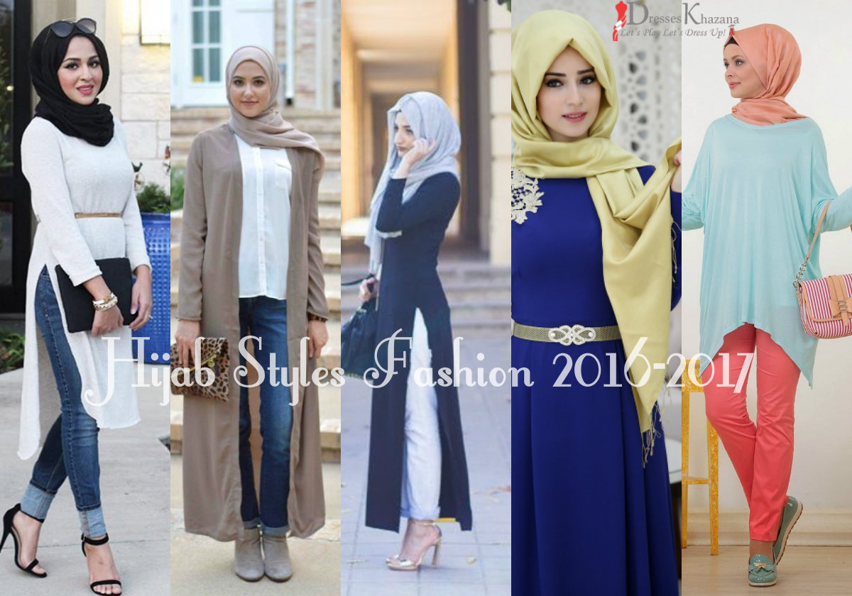 Hijab Styles Fashion and Abaya Designs 2018 for Girls