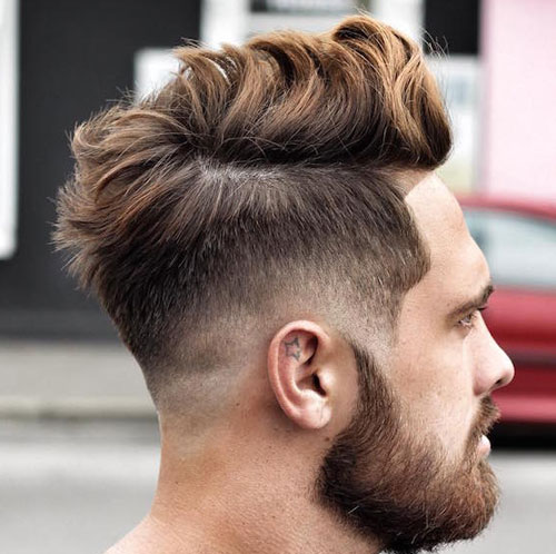 Long-Messy-Hair-with-Low-Fade