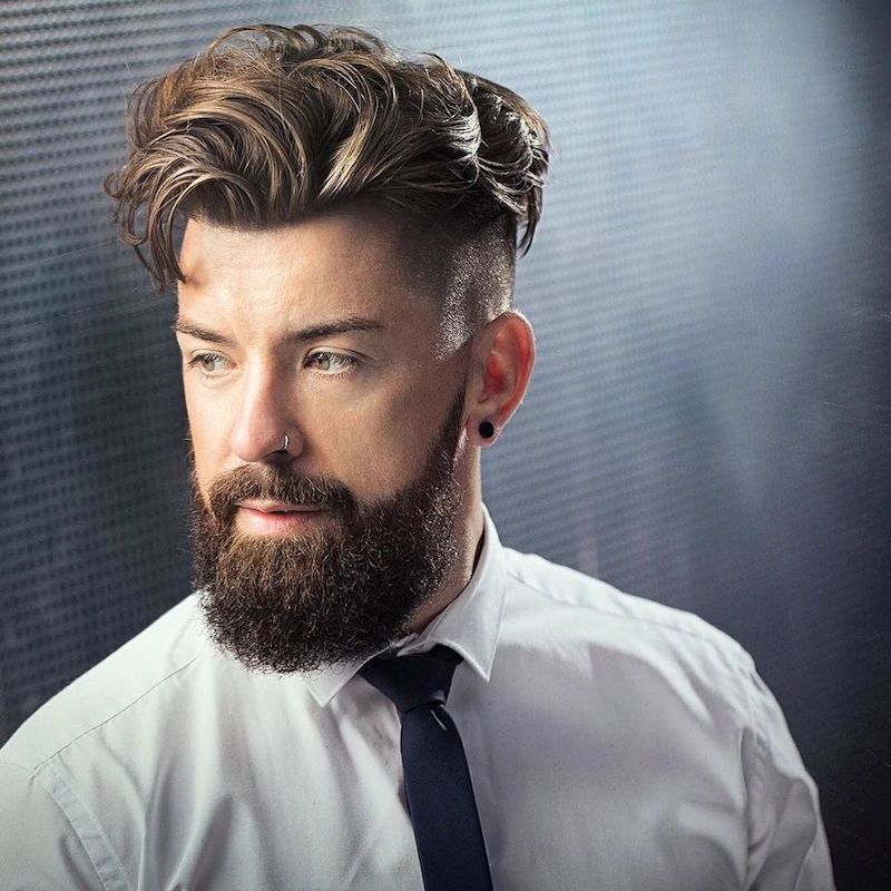 30+ New Trendy Hairstyles for Men 2018 - Haircut Designs