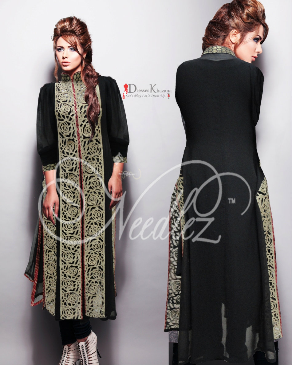 fa1657549140 Latest Beautiful Fancy Dresses for Girls in Pakistan 2016