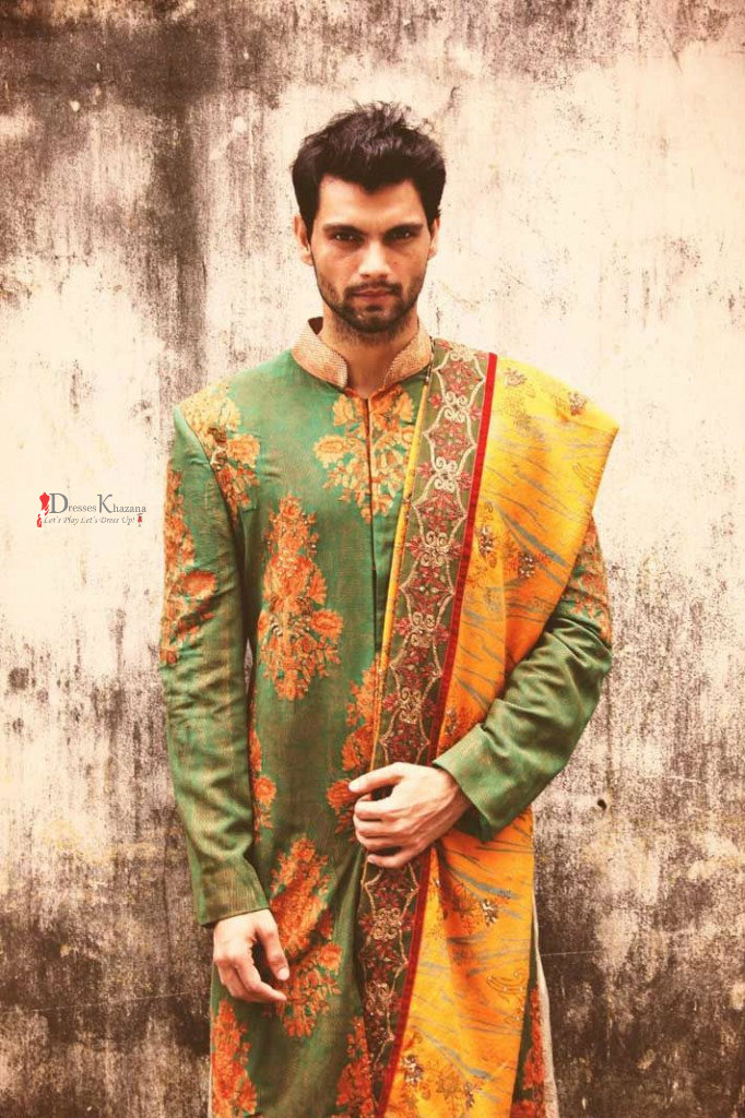 Mehndi Outfits Mens : Latest mehndi dresses ideas for men and wedding