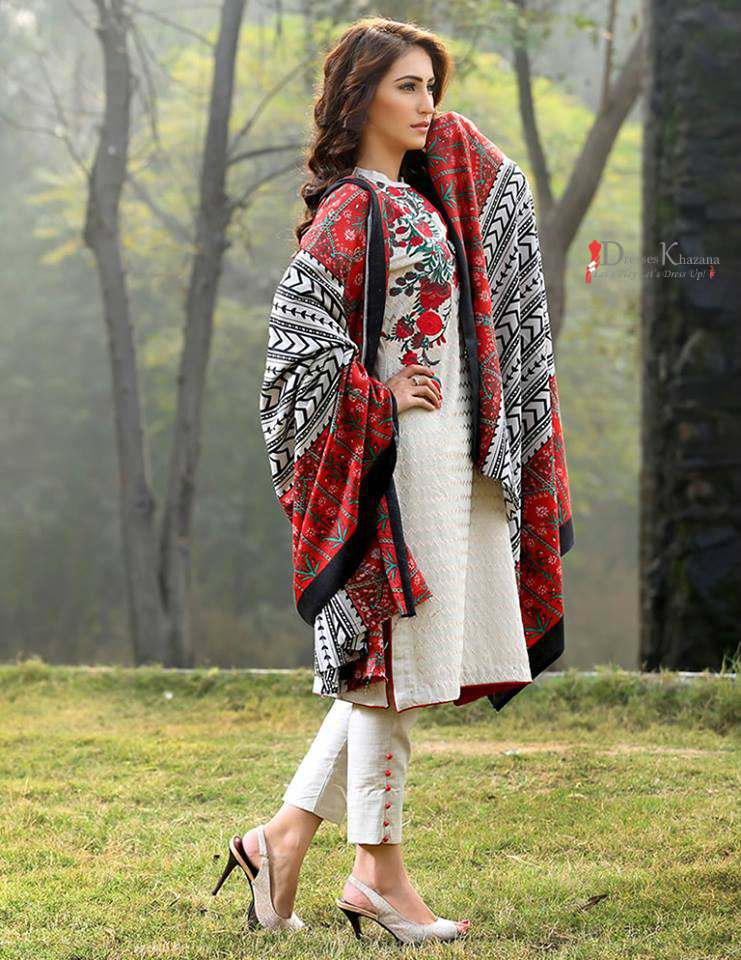 e5d0682f9 Beautiful Casual Dresses Designs 2018 for Pakistani Girls
