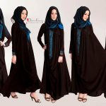 Abaya Designs for Girls 2017 6