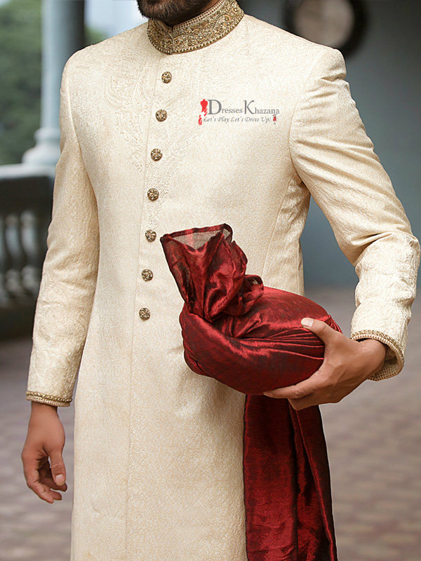 Latest Sherwani Designs Collection for Groom 15