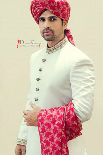 Latest Sherwani Designs Collection for Groom 20