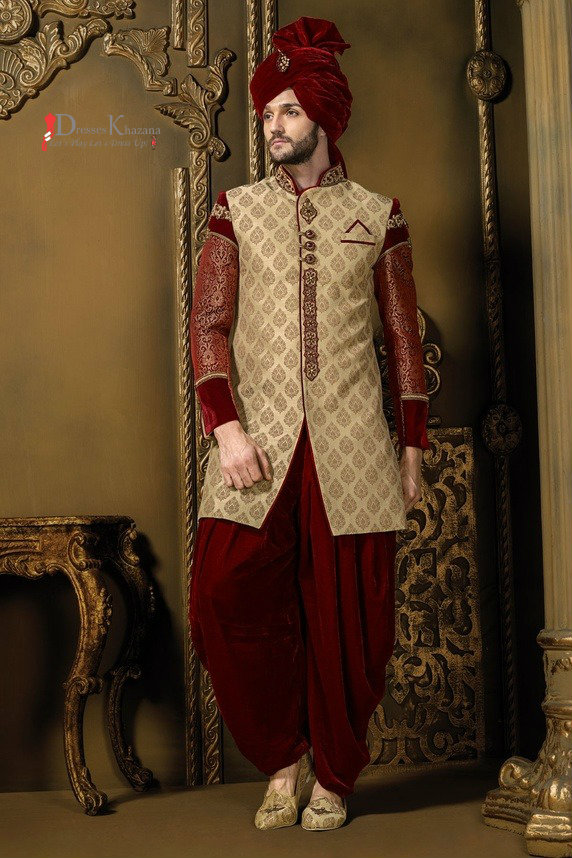 Latest Sherwani Designs Collection for Groom 3
