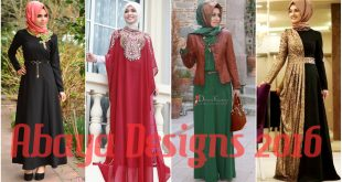 Abaya Designs 2016