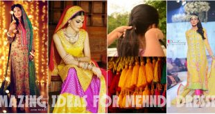 Amazing Ideas for Mehndi Dresses