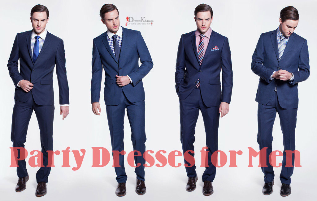 Latest Party Dresses For Men And Semi Formal Suits