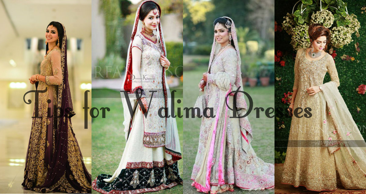 724690f10f Trending Styles of Latest Walima Dresses 2016 for Pakistani Girls