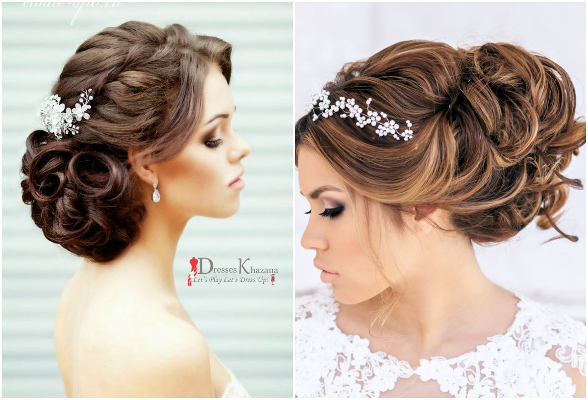bridal hairstyles for round face | trend hairstyle and haircut ideas