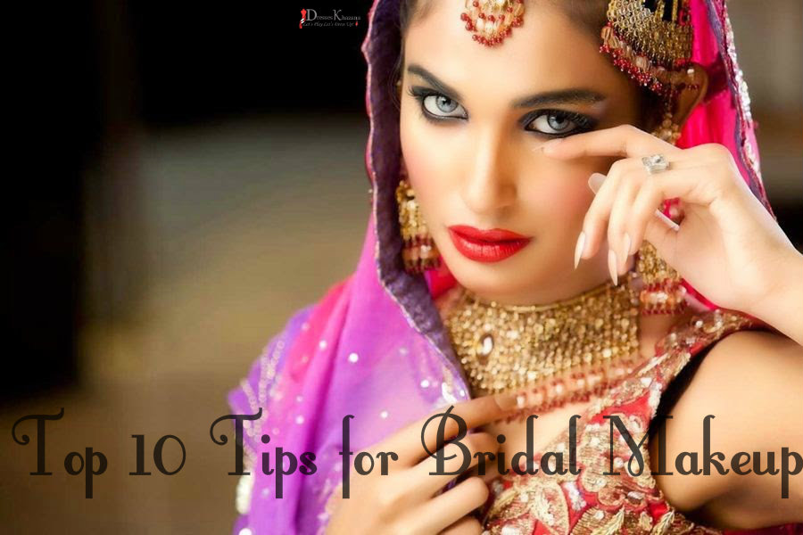 Top 10 tips for bridal makeup ideas for brides and girls for Nina g salon lahore