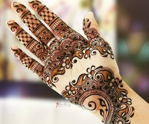 Latest Mehndi Designs 2016 Special Design Collection for EID