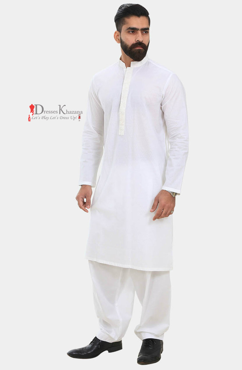 Designs of male and female fashion of shalwar kameez kurta designs - In The Religious Festivals Male And Female Also Like To Wear The Famous Brand S Kurta Shalwar Dresses