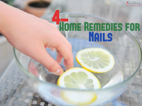 home remedies for nails