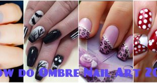 How do Ombre Nail Art 2016