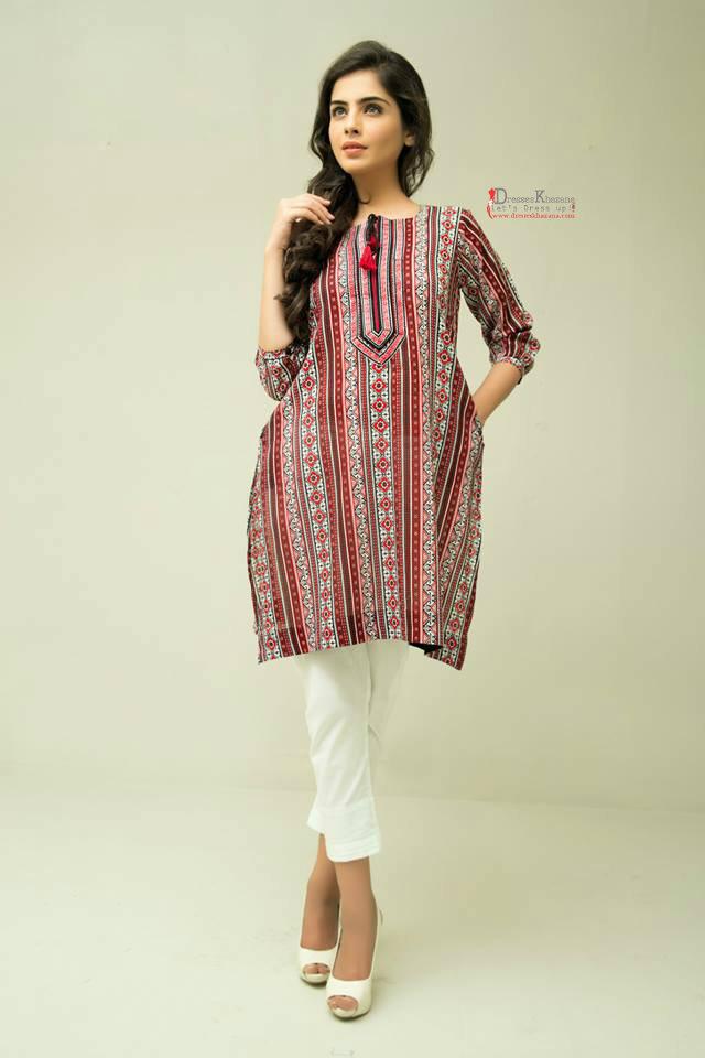 0e8ecb67a Latest Kurti Designs 2016 Fashion in Pakistan by Top Designers