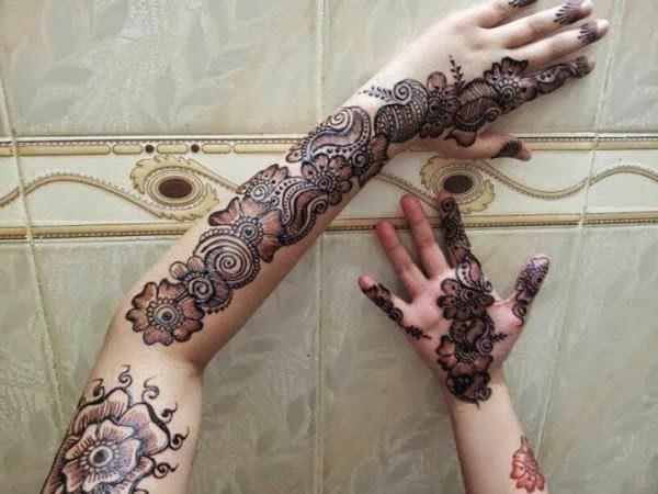Design Of Mehndi For Women : Top latest bridal mehndi designs with stylish