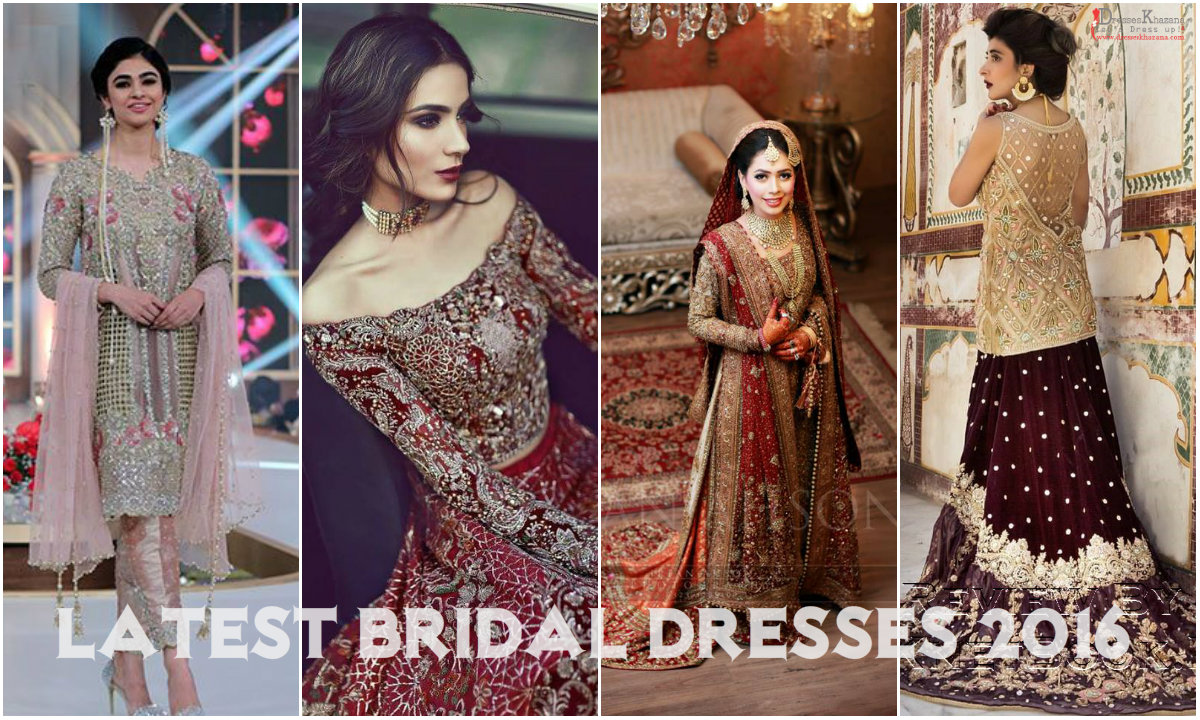 Latest Bridal Dresses 2016