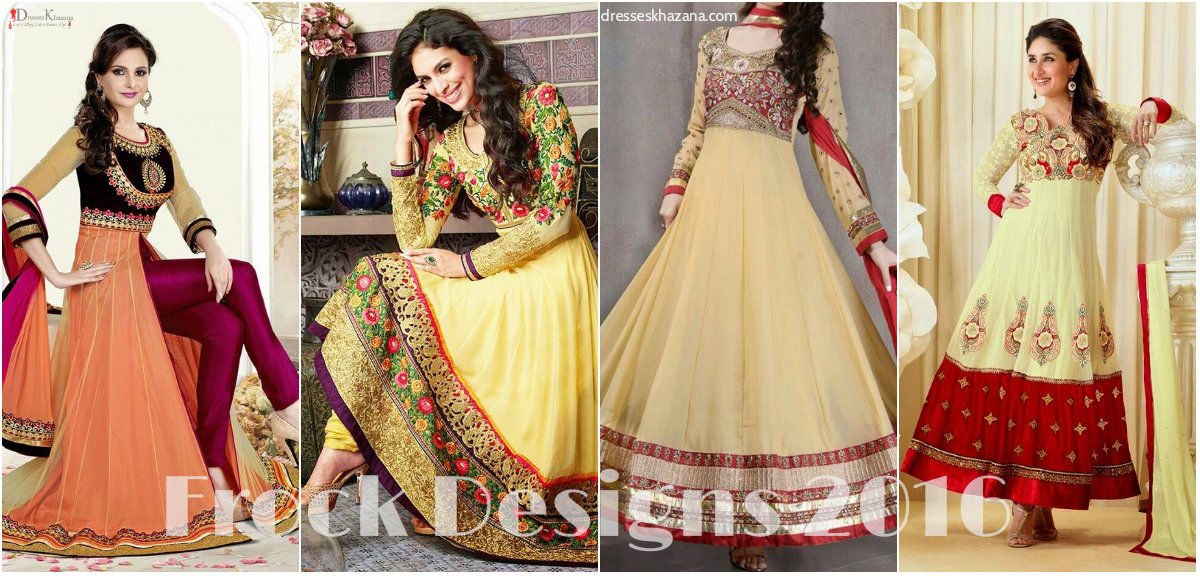 Latest Frock Designs 2016