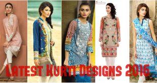 Latest Kurti Designs 2016