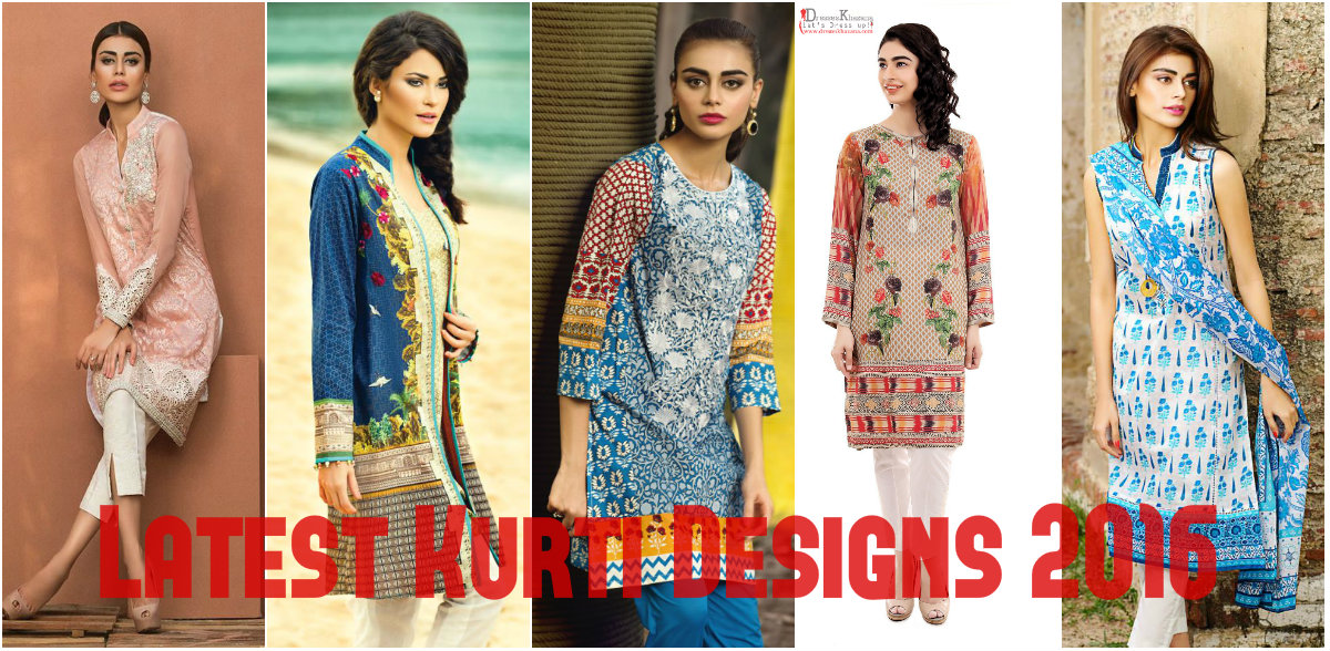Latest Kurti Designs 2016