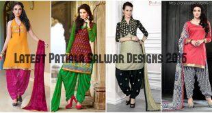 Latest Patiala Salwar Kameez Designs 2016