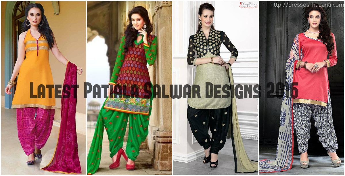 Latest Patiala Salwar Kameez Designs 2016