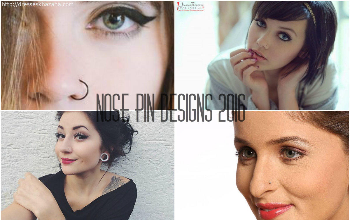 Trendy Nose Pin Designs 2016