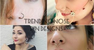 Trendy Nose Pin Designs 2017