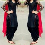 black-patiala-salwar