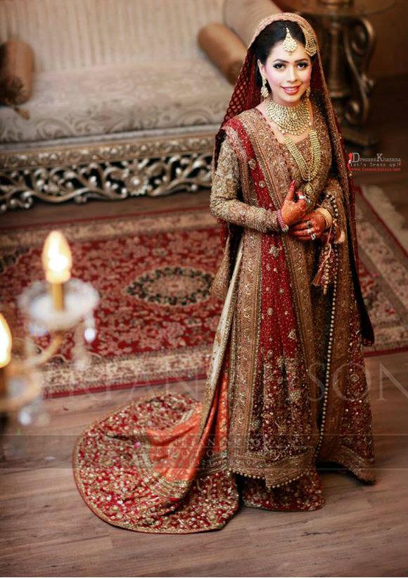 Latest Bridal Dresses 2016 Styles By Top Pakistani Designers