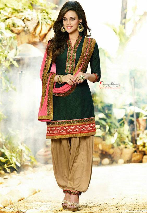 Latest Patiala Salwar Kameez Designs 2016 Stylish Pattern