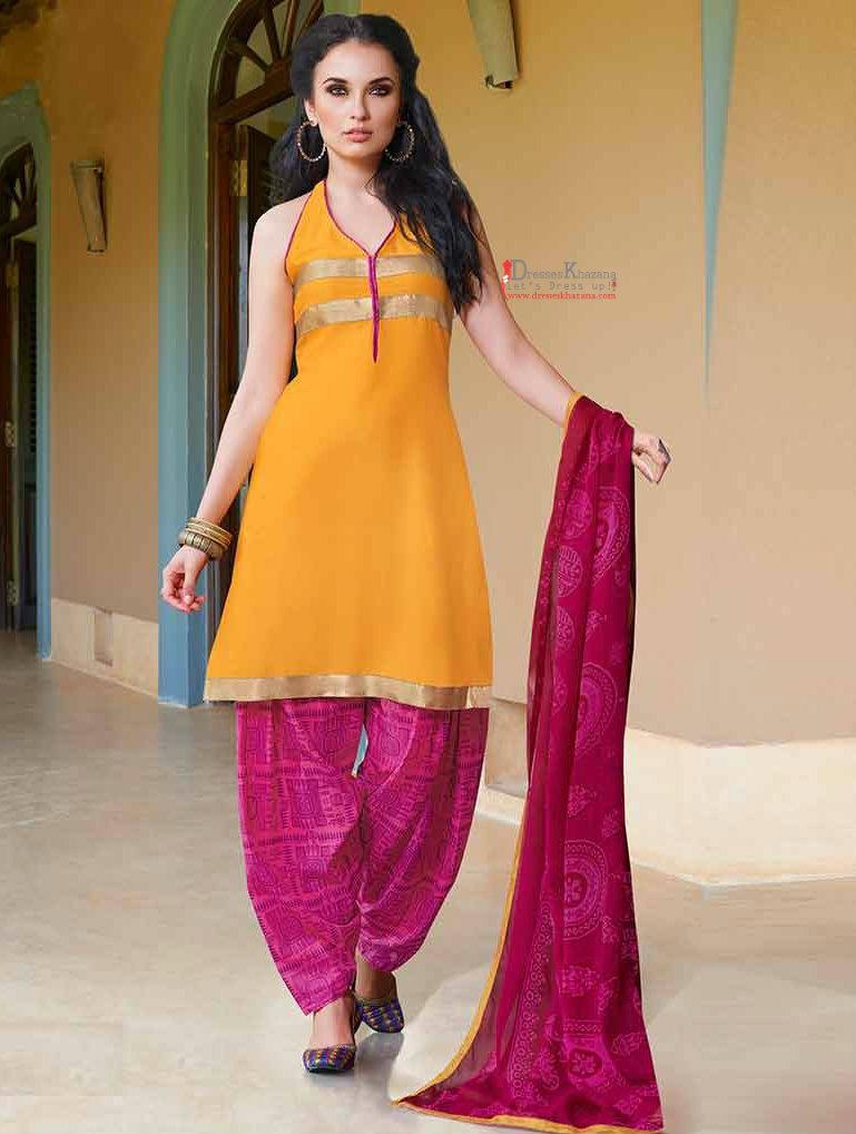 bc23817569 Latest Patiala Salwar Kameez Designs 2016 Stylish Pattern