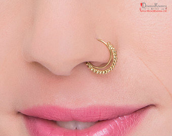Trendy Nose Pin Designs 2018 And Types Of Nose Rings Fashion