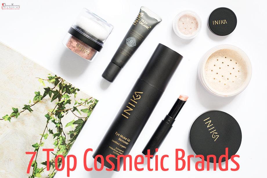 Top cosmetic brands 2016