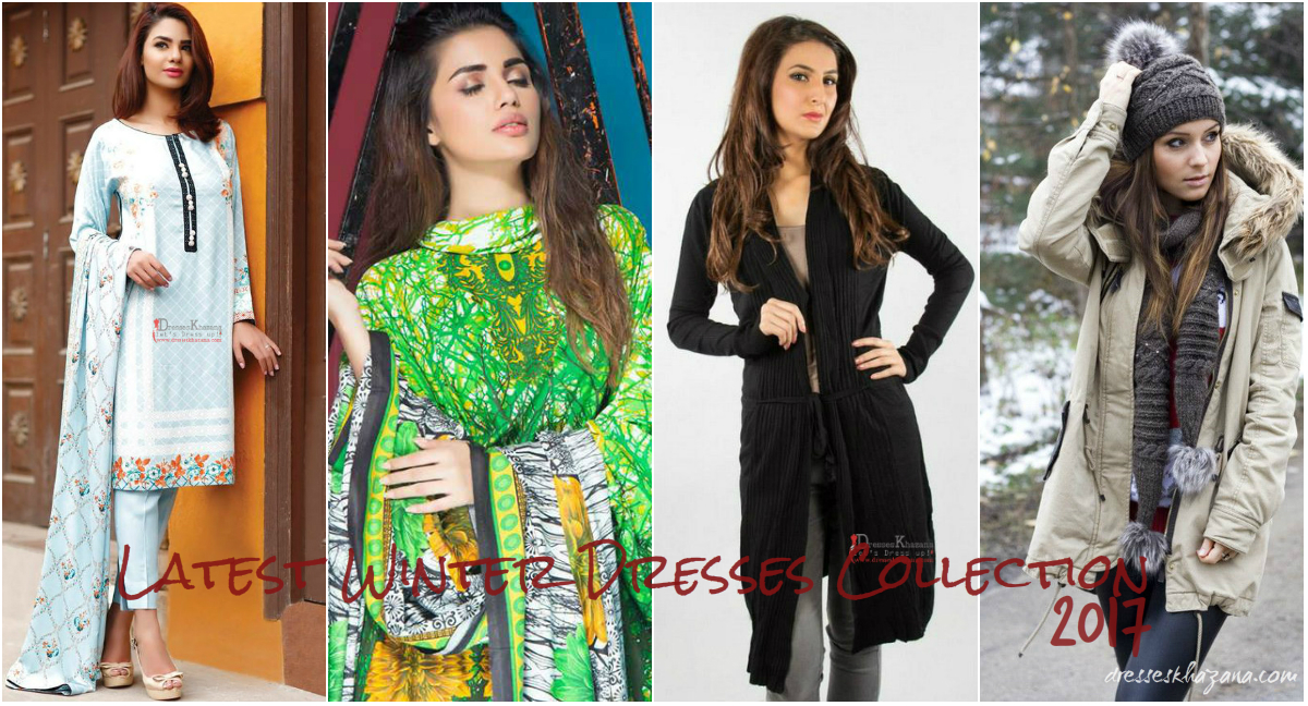 Latest Winter Dresses Collection 2017 By Dresses Designers