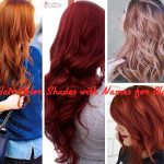 Most Trending Hair Color Shades with Names for Black Hair 2017