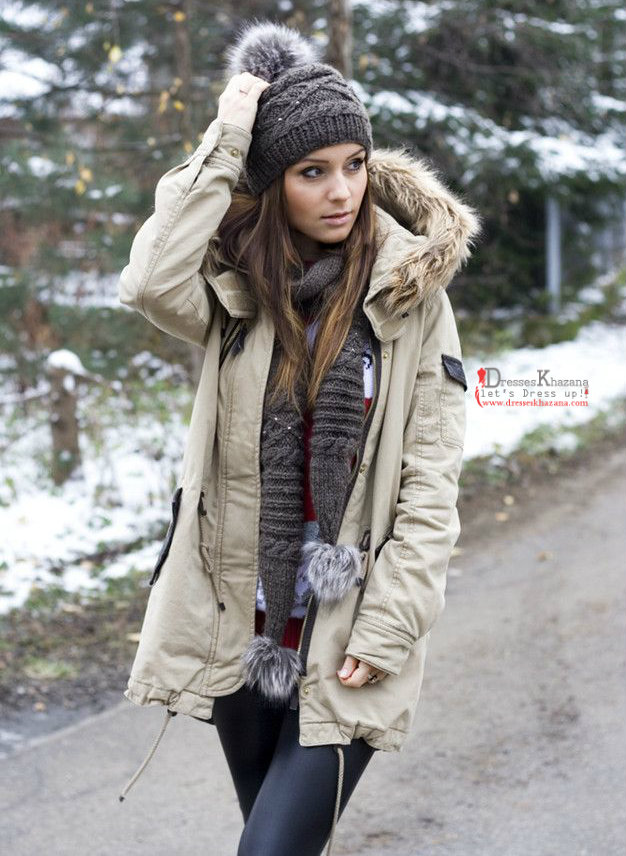 Dress up for winter season color