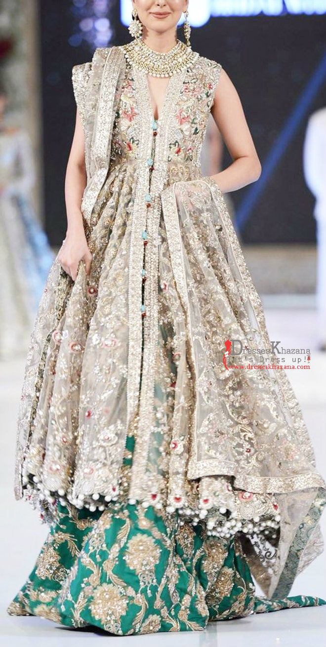 Latest Long Frock Designs For Bridal 2018 Stylish Outfit