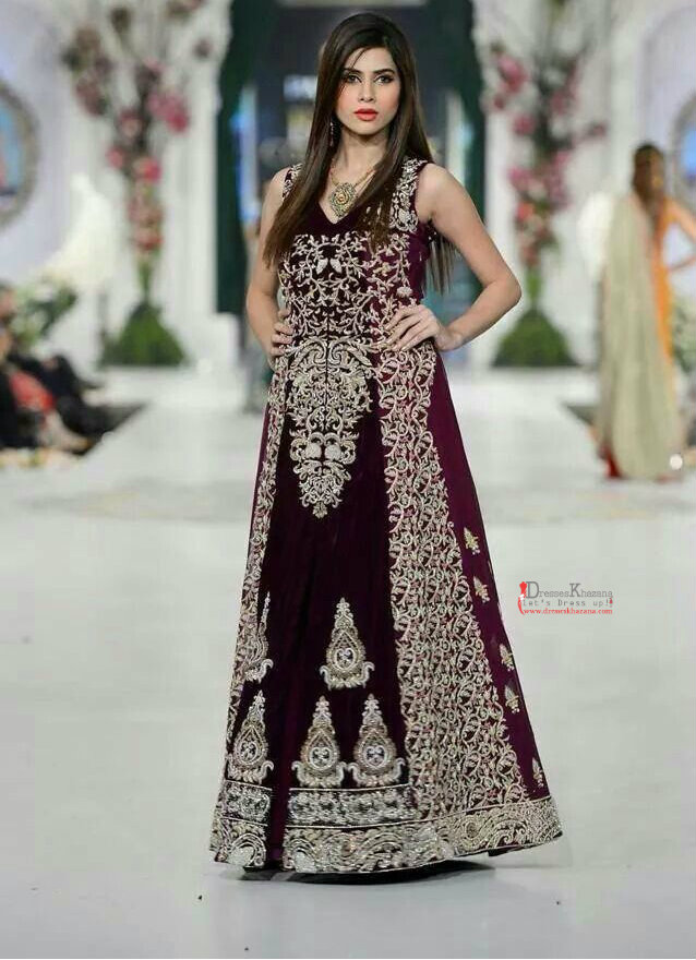 9c06deed4 Latest Long Frock Designs for Bridal 2018 Stylish Outfit