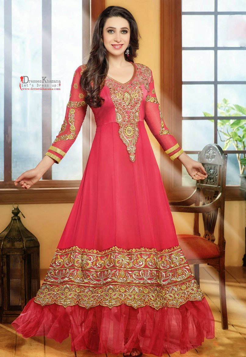 Latest long frock designs for bridal 2017 stylish outfit for New latest design