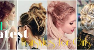 Latest Eid Hairstyles for Girls 2017
